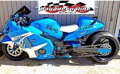 Custom Hayabusa, Harley Davidson Trike, Custom Sport Bikes, Moto Bike, Sportbikes, Motorcycle Design, Vintage Bikes, Street Bikes, Bike Life