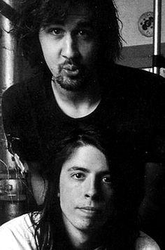 Dave Grohl & Krist Novoselic