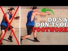 GET MORE FIGHT TIPS►http://full.sc/1bsPRTI Alright here is the first part of the boxing footwork series explaining some common mistakes and easy fixes. We lo...
