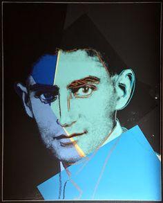 "Franz Kafka from Ten Portraits Of Jews Of The Twentieth Century, 1980; Screenprint in colors on Lenox Museum Board; Signed Andy Warhol and numbered AP 7/30 in pencil lower left; Published by Ronald Feldman Fine Arts, Inc., NY, Jonathan A Editions, Tel Aviv, Israel; Size - Sheet 40"" x 32""; Catalog Raisonne: Feldman/Schellmann: II.226; Unframed."