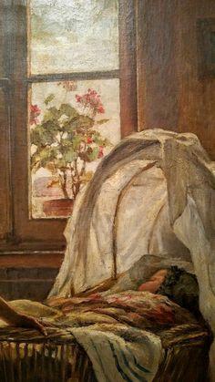 jules charles bocquet amiens 1840 ferri res 1931 la chanson du berceau huile sur toile don. Black Bedroom Furniture Sets. Home Design Ideas