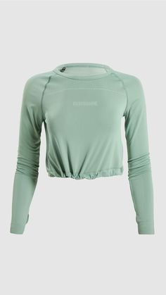 Gym Wear For Women, Women Wear, Sports Crop Tops, Mens Activewear, Long Sleeve Crop Top, Fitness Fashion, Women's Fashion, Sport Outfits, Active Wear