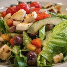 Colorful salads for a healthy lifestyle Menu Items, Cobb Salad, Healthy Lifestyle, Grilling, Salads, Greek, Common Ground, Colorful, Food