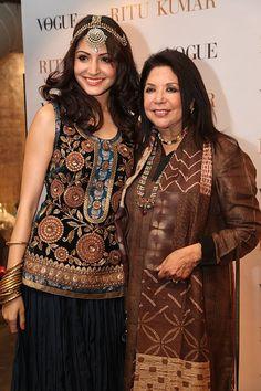 Actor @AnushkaSharma01 in and with Ritu Kumar http://www.ritukumar.com/