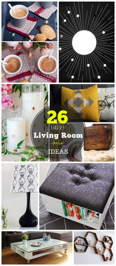 Click Pic for 26 DIY Living Room Decor on a Budget | DIY Living Room Decorating Ideas