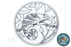 Картинки по запросу хамелеон рисунок