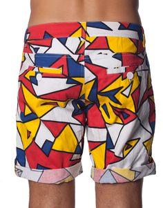 Nemis Clothing Mondrie Shorts www.nemisclothing.com