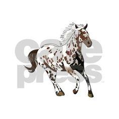APPALOOSA HORSE Sticker on CafePress.com