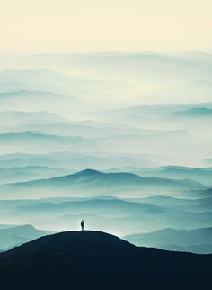 Blue mountains.