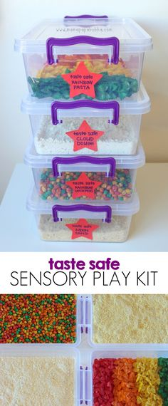 Taste Safe Sensory Play Kit | Mama.Papa.Bubba.