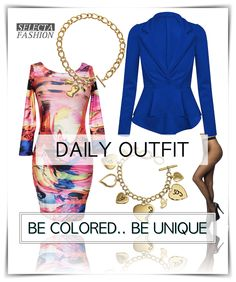 Outfity na bežný deň - Casual outfits - SELECTA FASHION color dress peplum jacket coat guess chain guess accesories selectafashion pantyhose Peplum Jacket, Peplum Dress, Fashion Colours, Casual Outfits, Chain, Unique, Jackets, Color, Inspiration