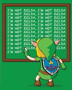Link Is Traumatized
