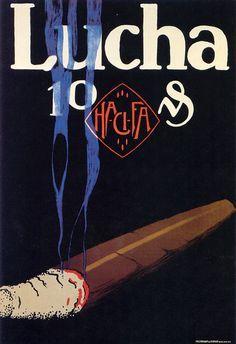 Lucian Bernhard (1883-1972, German-American), Lucha.