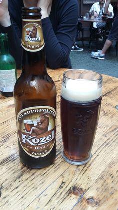 Kozel - Tradicional cerveja Tcheca. Praga.