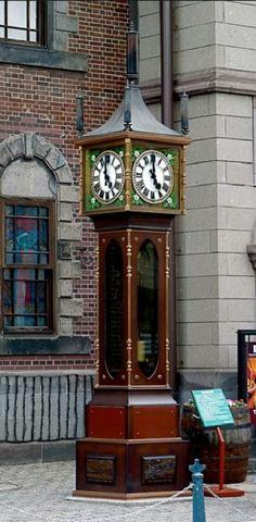 The Otaru Steam Clock 時計 on the Marchen Intersection in Otaru Hokkaido Japan