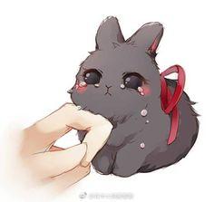 Read Mo dao zu shi bunny 6 from the story Imagenes Mo dao zu shi by with reads. Anime Chibi, Kawaii Anime, Pet Anime, Arte Do Kawaii, Kawaii Chibi, Anime Animals, Cute Chibi, Kawaii Art, Chibi Bunny
