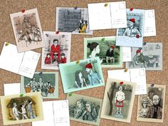I'm a HUGE Wes Anderson fan, and these postcards would make an amazing addition to an office or home theater.