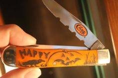2015 only 5 made out of only 100 linda karst halloween case xx error knives Case Knives, The 100, Halloween, Ebay, Spooky Halloween