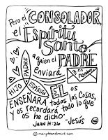 free spanish biblical coloring pages | FREE Bible Verse Coloring Pages- English and Spanish ...