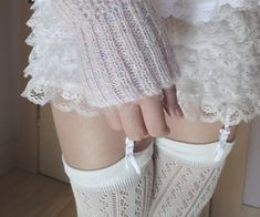 Discovered by Dora. Find images and videos about white, pale and pastel on We Heart It - the app to get lost in what you love. Chica Cool, Velvet Mini Skirt, Pose, Girl Next Door, Cute Skirts, Lace Shorts, Dress Up, Girly, Fashion Outfits