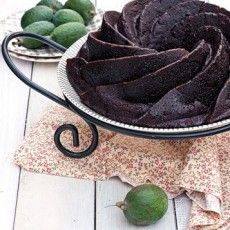 CHOCOLATE FEIJOA AND BANANA BUNDT CAKE  by Gourmet Recipes
