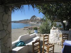 Molos Skyros Island... from Skyros Island Friends Facebook page... Outdoor Furniture Sets, Outdoor Decor, Greek Islands, Island Life, Natural World, Greece, Patio, In This Moment, Beach