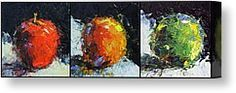 Traffic Lights Canvas Print by Jeanette Jobson