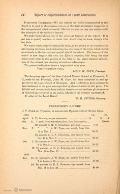 Biennial Report of the Superintendent of Public Instruction of North Carolina, for the Scholastic Years 1885 and 1886, Volume 1884-1886, Page 88 | Document Viewer