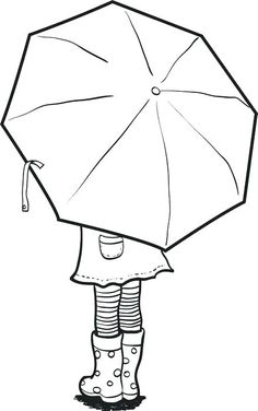 Képtalálat A Következőre: U201ecolouring Girl With Umbrellau201d