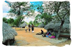 African Village Life Village life in a tsonga Jacob Zuma, Maputo, South Africa Tours, Vernacular Architecture, Trek, Street View, Culture, House Styles, Life