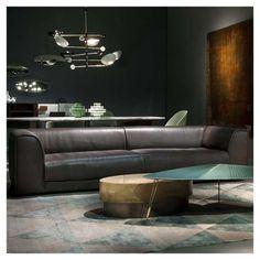 styletaboo:  Draga E Aurel - Loren Small tables + Loren sofa for Baxter