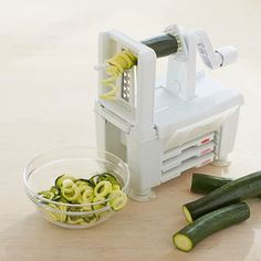Paderno Spiralizer 4-Blade and Spiralizer Book #williamssonoma
