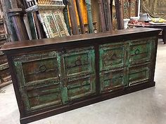Antique-Hand-Carved-Chest-Green-Sideboards-TV-Console-Buffet-Vanity-Cabinet      http://stores.ebay.com/mogulgallery/Sideboards-/_i.html?_fsub=1109606219&_sid=3781319&_trksid=p4634.c0.m322