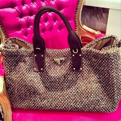 Prada weekend handbag