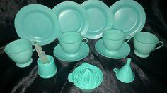 Vintage Child's Plastic Tea Set   Toys & Hobbies, Vintage & Antique Toys, Tea Sets   eBay!