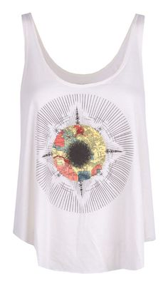 Part of RVCAs Artist Network Program comes this rad tank designed by the geniusly creative mind of ......Price - $26.00 super cute