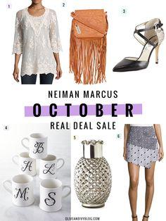 Neiman Marcus sale picks #ad   oliveandivyblog.com