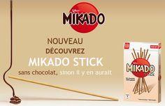Parmesan et Paprika: Mikado avec ou sans chocolat? #Concours