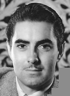 The flawlessly gorgeous Tyrone Power