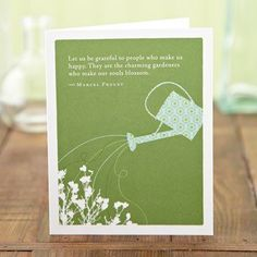 A card for your gardener friends