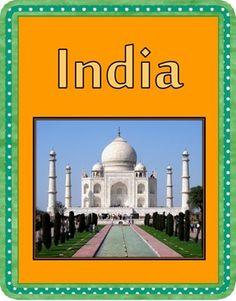 My workbook and planning on teaching similarities and difference between India and your home country.