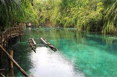 Romblon, Philippines — by angelove. Enchanted river..amazing place i've been...
