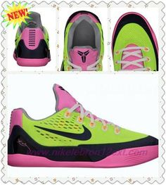 huge selection of 8e121 838be Nike Kobe 9 EM GS Volt Midnight Navy-Pink Glow-Wolf Grey 653593-701 For  Black Friday. Sabine · best cheap basketball shoes
