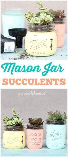 Mason Jar Mother's Day Gift Ideas