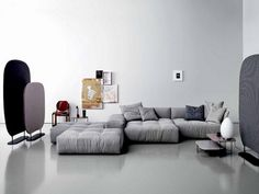 Pixel Sofa - The Pixel sofa is a creative work of the designer Sergio Bicego, made by Saba Italia. The Pixel sofa collection is characterized by a series of different elements combined together thanks to. Living Room Sofa, Living Room Furniture, Home Furniture, Furniture Design, Sofa Design, Moderne Couch, Casa Milano, Designer Couch, Italia Design