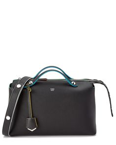 FENDI By The Way Large Multicolor Leather Boston Bag is on Rue. Shop it now.