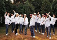 Wanna One dalam Wanna One Season Greeting 2019 Ha Sungwoon, 3 In One, Kpop Boy, Jinyoung, Photo Book, Seventeen, Boy Bands, Bae, Seasons
