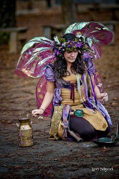 Zinnia... the fae fairie friend of Twig