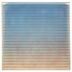 """Monumental Power Boothe Painting, """"Primary Drift"""", 1974"""