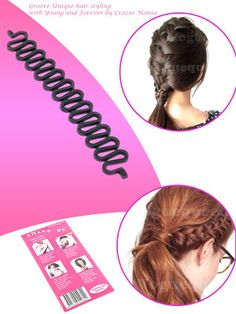 Awesome Utility. Now I can make french Braid and fish braid on my own :) - cooliyo.com